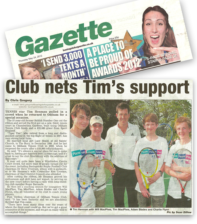 Basingstoke Gazette 24.05.12