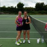 Odiham Tennis Club 2016 Championships Ladies Finalists